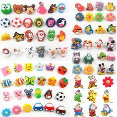 Cartoon Soft Gum Children Room Cabinet Drawer Knob Kids Wardrobe Handle Furniture Closet Dresser Pulls for Kids Nursery Rooms