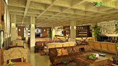 3D Classic Rentaurant Interior Design Rendering - http://www.yantramstudio.com/3d-interior-rendering-cgi-animation.html