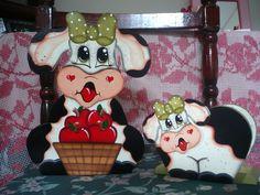 Resultado de imagen para vaquitas country para cocina