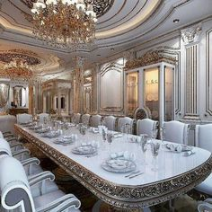36 luxury Interior House Design For You > Fieltro.Net luxury interior house design for you 23 Related Mansion Interior, Luxury Homes Interior, Luxury Home Decor, Home Interior Design, Interior Styling, Luxury Dining Room, Dining Room Design, Plafond Design, Dream Rooms