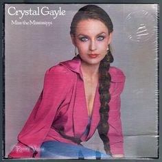 "#Miss the #Mississippi, by country music singer #Crystal #Gayle, peaked at #3 on the Billboard Country Albums chart. The album was her first album for Columbia Records, and contained three Country top ten hits; ""Half the Way"" (#2), ""It's Like We Never Said Goodbye"" (#1) and ""The Blue Side"" (#8). ""Half the Way"" also reached #15 on the Billboard Hot 100 pop chart. The album was certified gold by the RIAA in 1980. #CrystalGayle #MissTheMississippi #Vinyl #LP"