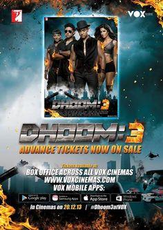 Krrish 3, Dhoom 3, 3 Movie, Full Movies Download, Movies To Watch, Cinema, Facebook, Movie Posters, Free