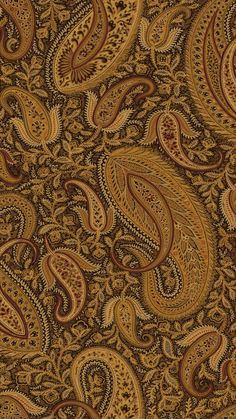 "Gentlemen's Quarters Nathaniel Modern 27' x 27"" Paisley Wallpaper"