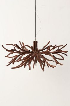 this is a wicked cool modern branch light fixture