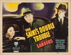 More fun with solid B mystery movie antics this time in Philadelphia. The Saint (George Sanders) co-stars with two bad guys! The first is Dracula himself Bela Lugosi as a mystery man from Egypt the second is the Saint's evil twin (George Sanders again!) It'll keep you guessing right to the end! Louis Hayward, Tom Conway, Evil Twin, Roger Moore, Episode Guide, Saint George, Double Trouble, How To Make Shorts, British Actors