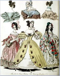 All sizes | The World of Fashion and Continental Feuilletons 1836 Plate 8 | Flickr - Photo Sharing!