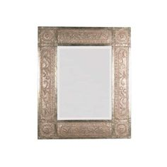 Uttermost 11602 B Harvest Serenity Beveled Mirror With Ornate Frame ($636) ❤ liked on Polyvore featuring home, home decor, mirrors, ornate mirror, distressed mirror, uttermost home decor, leaf mirror and harvest home decor