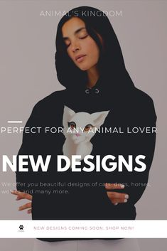 We have created a shop with great designs of animals. It is still a beginning but you can expect new designs on the way. If you are an animal lover, make sure to check out the designs! #design #cute #cat #black #clothes #animals Black Clothes, Animal Design, Cute Designs, News Design, Animal Kingdom, Cat, Check, Shop, Animals