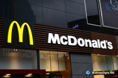 3D LED Front-lit Signs With Painted Stainless Steel Letter Shell