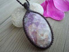 Beautiful Fluorite Necklace/Clarity/Fluorite by GaiasGiftsToUs