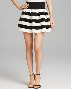 $58, Skirt Stripe Full by Aqua. Sold by Bloomingdale's. Click for more info: http://lookastic.com/women/shop_items/106744/redirect