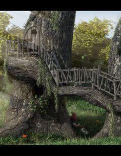 Gnome bridge.