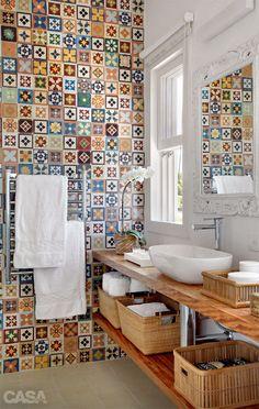 ACHADOS DE DECORAÇÃO - blog de decoração: DECORAÇÃO DE BANHEIRO ou LAVABO: tem que ser lindo e confortável