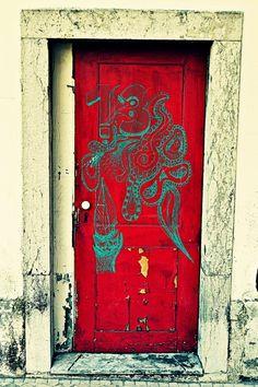 13 RED DOOR
