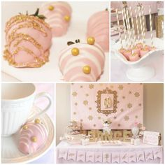 Sugarplum Nutcracker Tea Party with Such Cute Ideas via Kara's Party Ideas KarasPartyIdeas.com #ChristmasParty #SugarplumFairies #PartyIdeas...