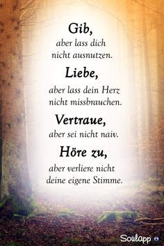 SoulMe is not a pure dating app, but a general plot … – SoulMe – complete yourself – love – Motivational Quotes Osho, German Quotes, Quotation Marks, True Words, Spiritual Quotes, Friendship Quotes, Quotations, Verses, Motivational Quotes