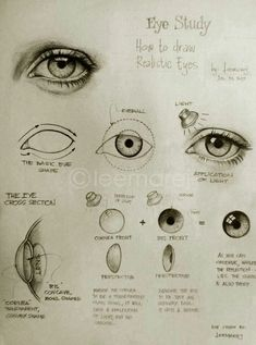 How to draw Realistic eye..
