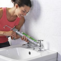 Tubs and sinks are used everyday, the caulking between these fixtures and the wall often crack or become loose.