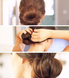 Nice Buns, Hun! Learn how to transform your hair into easy buns, 3 ways! #hair #beauty #diy