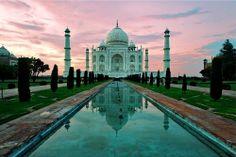 India (Agra - Taj Mahal )