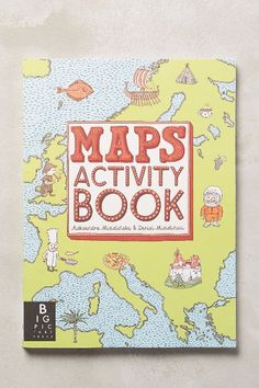 Maps Activity Book - anthropologie.com