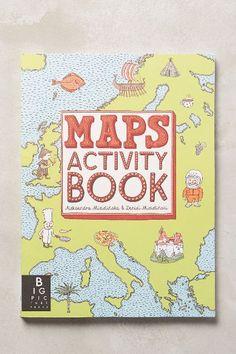 Maps Activity Book - anthropologie.com