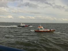 KNRM @knrm De KNRM reddingboten van Cadzand en Breskens #SAREX