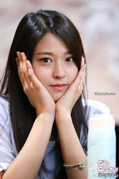 AOA - Kim SeolHyun ('Hot Summer' 핫서머) fansigning 140815