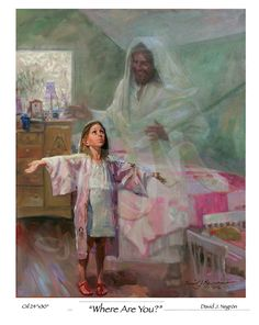"""He is always with us """"Where are you?"""" by David Negron"""