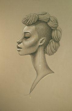 """""""Harlem Honey"""" by Sarah Golish."""