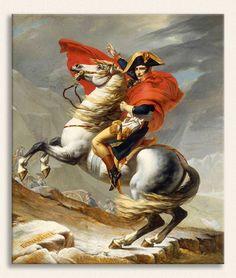 Jacque Louis David, Napolyon St Bernard Geçidinde, Tarih: 1801, Yer: Kunsthistorisches Museum, Viyana