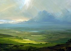 James Naughton ~ Evening Glow, the Lake District