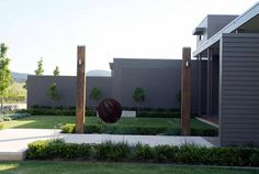 www.naturesvision.com.au  Milbrodale, Hunter Valley, Australia Irrigation, Environment, Australia, Architecture, Gallery, Building, Garden, Outdoor Decor, Modern