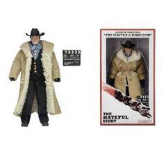Figura Quentin Tarantino, 20cm. Los Odiosos Ocho (The Hateful Eight) Deluxe. NECA  Figura de 20cm perteneciente a Quentin Tarantino, basado en la película Los Odiosos Ocho.