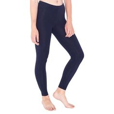 AA013 Women's Cotton Spandex LeggingsWomen's leggings made from a cotton spandex blend jersey. - 95% cotton and 5% spandex blend - Elastic waistband - Form fitting - 190gsm - Price from £8.05