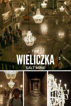 The Wieliczka Salt Mine is a perfect day trip from Krakow, Poland.  #Krakow #Poland #DayTrip #EasternEurope #Tour