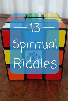 13 Spiritual Riddles That Are Super Challenging For Pinterest Lovers | Think your mind is sharp enough to answer even 5 of these mental challenges? Try them at http://bookretreats.com/blog/13-puzzling-spiritual-riddles-that-i-bet-you-cant-solve/