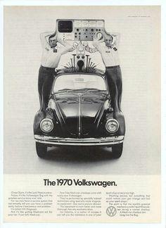 old volkswagen ads | Via Spencer Sholly RT(R)(ARRT)
