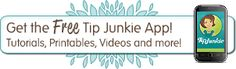 Tip Junkie menu bar. I like how much she offers in such a clean way... possible to keep my lesson plans?