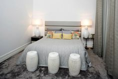 Private House 1 - Main Suite  Chic New Grey rug, Mambo Unlimited Ideas