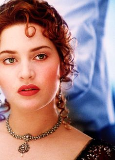 "Kate Winslet ""Titanic"" Her makeup is gorgeous Titanic Kate Winslet, Titanic Rose, Kate Winslate, Leo And Kate, Mea Culpa, Hollywood Celebrities, Hollywood Actresses, Leonardo Dicaprio, Portrait"