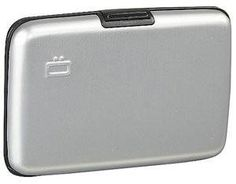 Ogon Aluminum Credit Card Wallet Silver OGON DESIGNS. $27.15
