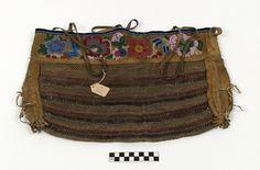 Kawchodinne (hare), game bag, circa 1900