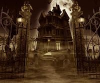 Best Spooky Guide to Halloween Traditions and Customs including The UK, US Haunted Places Directory. An essential tool for Halloween and haunted fans alike. Best Haunted Houses, Creepy Houses, Halloween Haunted Houses, Haunted Mansion, Halloween Art, Halloween Stuff, Halloween Pictures, Halloween Horror, Haunted Castles