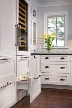 A New Kitchen Makes More of Less Space - traditional - Kitchen - Dc Metro - Gilday Renovations Design Build