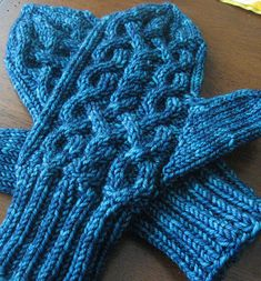 Mostly I like the name of the mittens, but also the design. M & C would like them too.