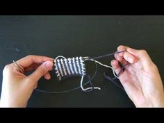 Reversible Stripes Scarf: The Stitch - YouTube