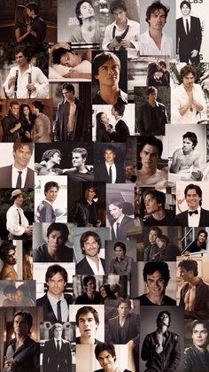 The Vampire Diaries, Damon Salvatore Vampire Diaries, Vampire Diaries Poster, Ian Somerhalder Vampire Diaries, Vampire Diaries Wallpaper, Vampire Diaries Seasons, Vampire Diaries The Originals, Delena, Daimon Salvatore