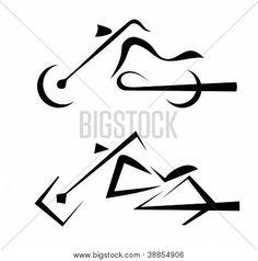 Símbolo de moto, tatuagem