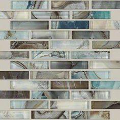 "SHAW-MERCURY GLASS-12""x12""-Tile & Stone-Mica"